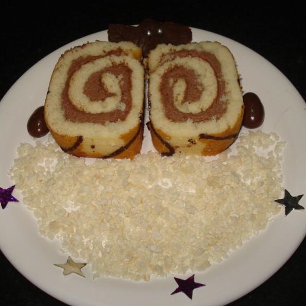 Photo of Pinwheels Cake by suman prakash at BetterButter