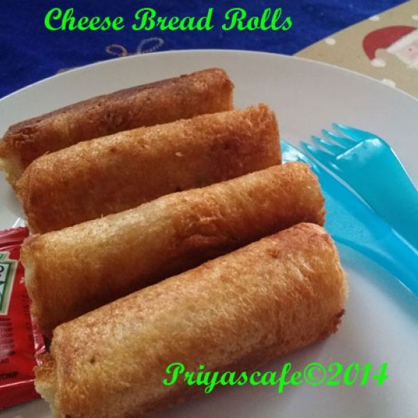 How to make Cheese Bread Roll