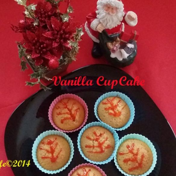 Photo of Vanilla CupCake by Priya Alagappan at BetterButter
