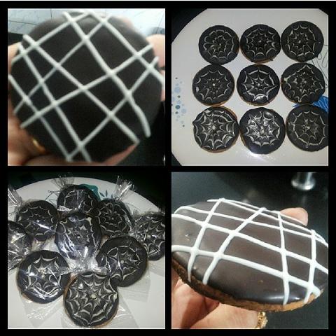 How to make Dark chocolate cookies