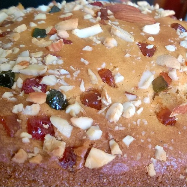 Photo of Fruit & Nut Cake by Sanghamitra Mishra at BetterButter