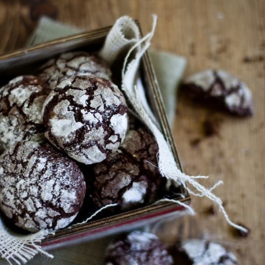 Photo of Chocolate Crinkle Cookies by Kankana Saxena at BetterButter