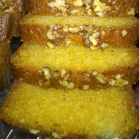 Photo of Carrots Cinnamon Walnut Cake by Kalpana Priyadarshi at BetterButter