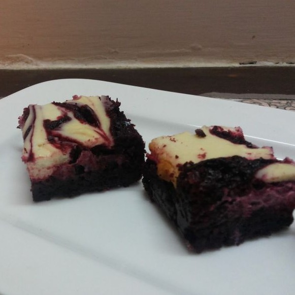 Photo of Red Velvet Cheesecake Swirl Brownies-low Cal by Shalini Digvijay at BetterButter