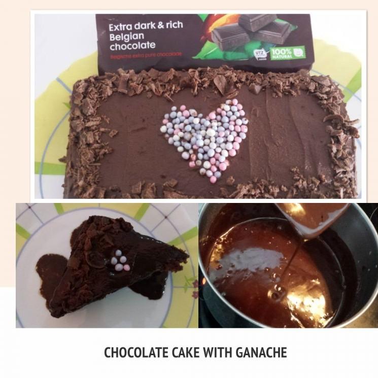 Photo of Eggless chocolate cake with Ganache (Super moist cake using Condensed milk) by Deepa Gupta at BetterButter