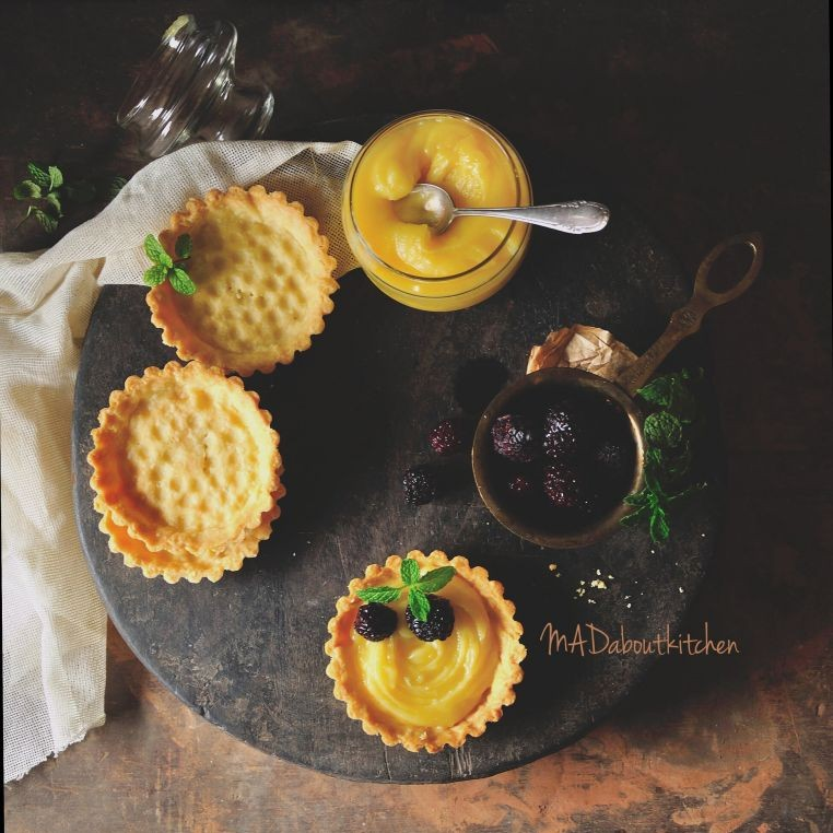 Photo of Lemon Curd Tartlettes by Madhuri Aggarwal at BetterButter