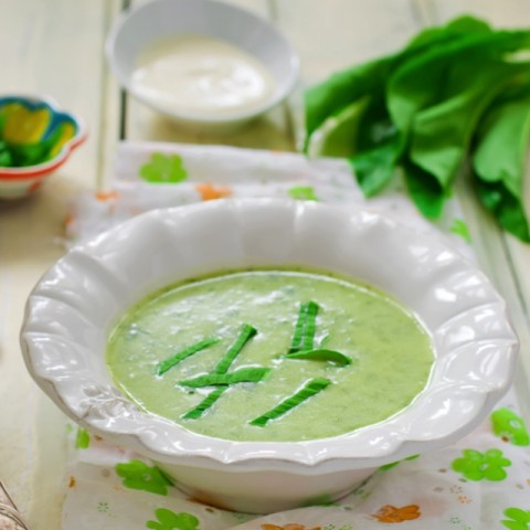 How to make Cream of Spinach