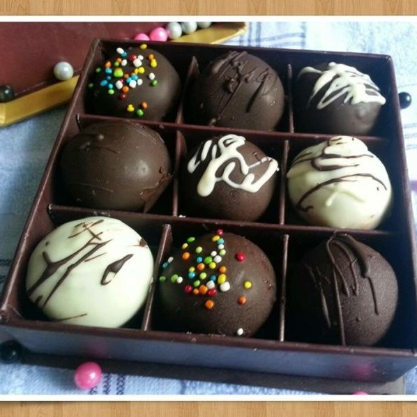Photo of Oreo truffle by Abhilasha Mall at BetterButter