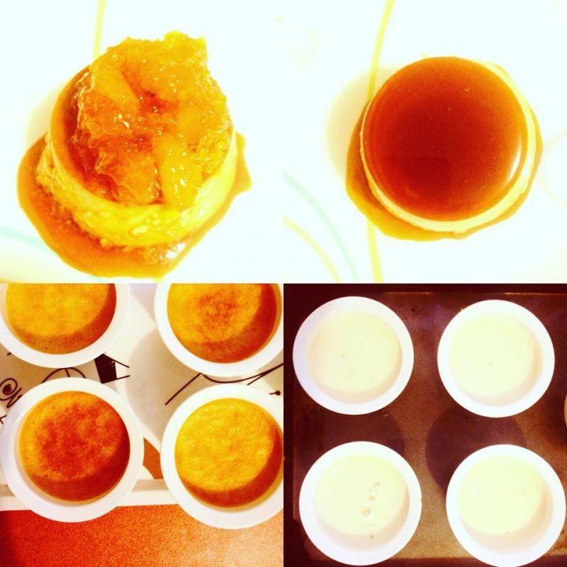 How to make Orange and Creme Caramel: