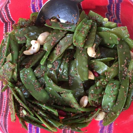 Photo of Snow peas salad by bina bedi at BetterButter