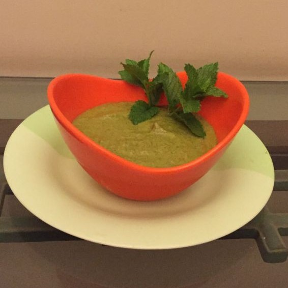 Photo of Pudina / dhania chutney (Fresh peppermint and cilantro chutney ) by bina bedi at BetterButter