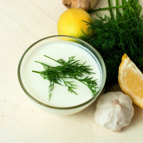 How to make Garlic and Dill dip
