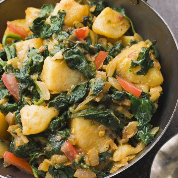 Photo of Aloo Saag by Ananya Mohanty at BetterButter