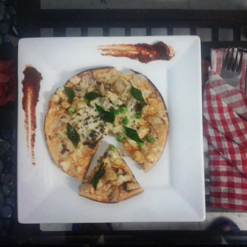 Photo of Fusion Madras Mushroom Fritatta with Mango Thoku. by Tejasvi Arneja at BetterButter