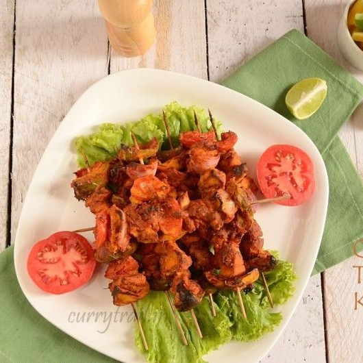 Photo of Chicken Tikka Kebab's by Jyothi Rajesh at BetterButter