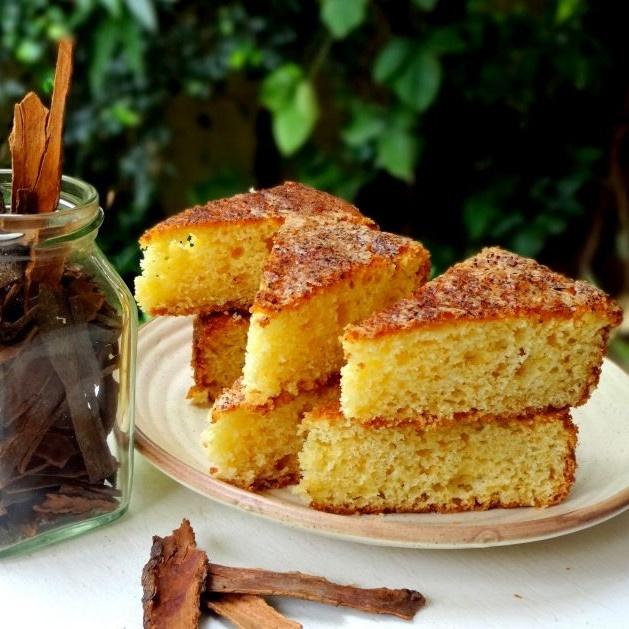 How to make  दालचीनी- कॉफी केक
