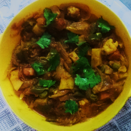 Photo of Mix Vegetables Masala by Chalet Wadia at BetterButter