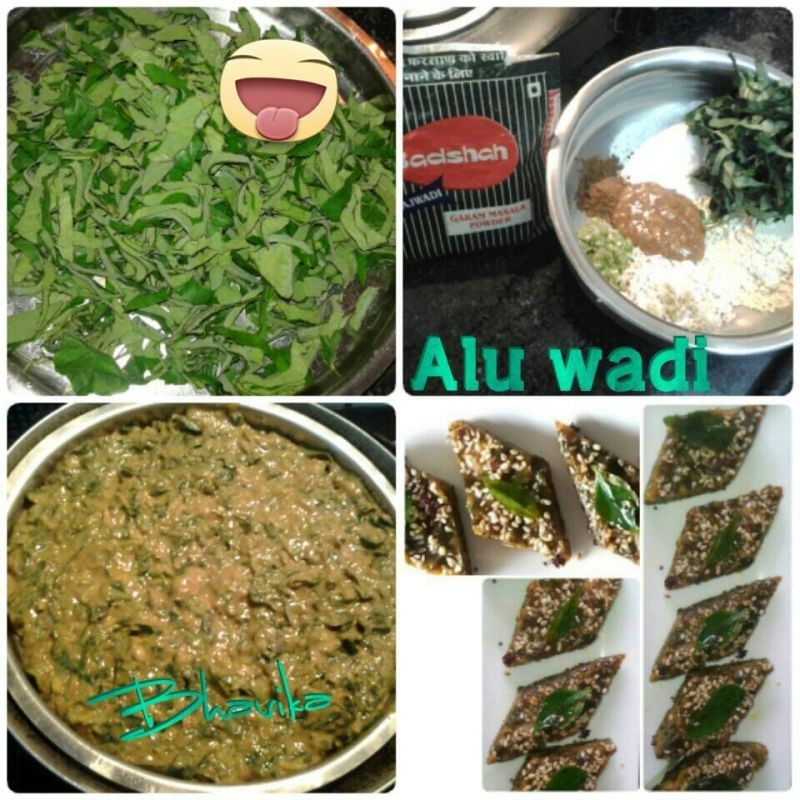 How to make Aluwadi (Patra) in my style