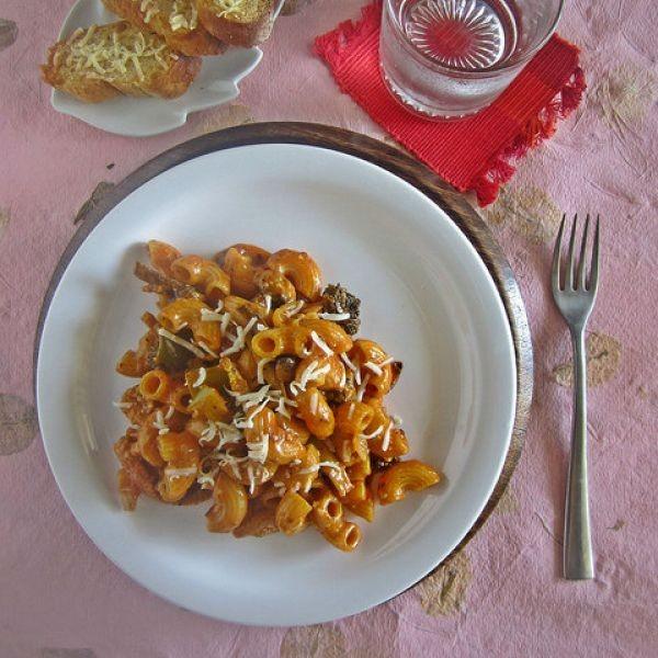 How to make Pasta with Tomato Cream sauce