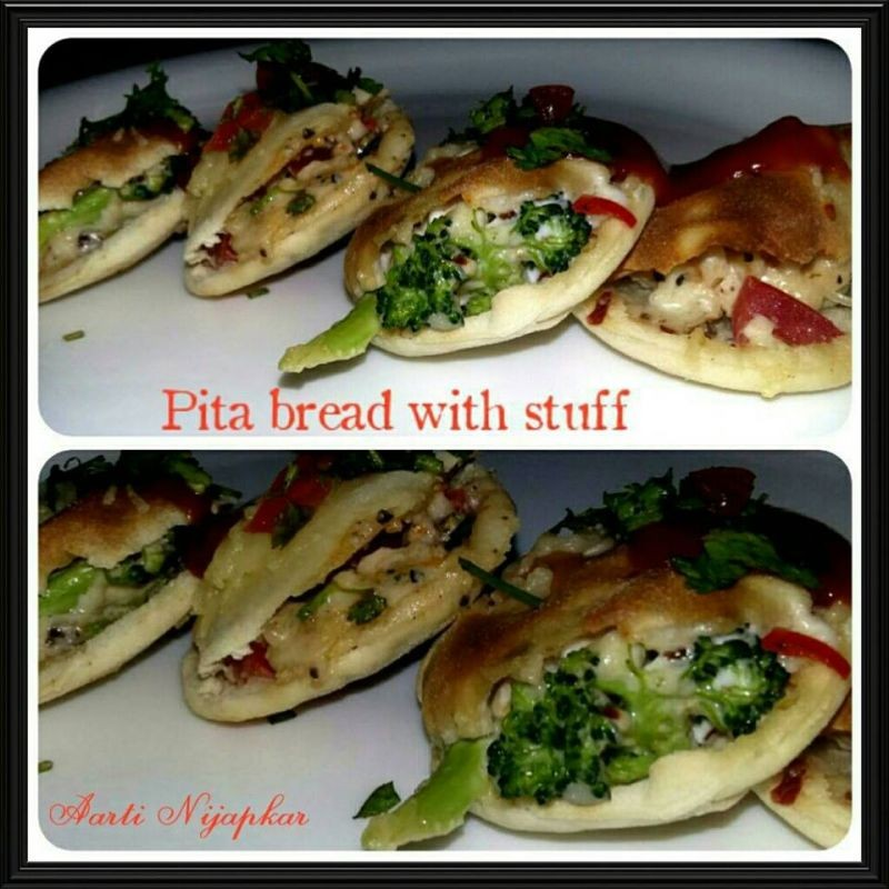 How to make Pita bread with filling!