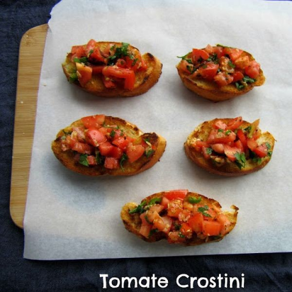 Photo of Tomato Crostini by sapana behl at BetterButter