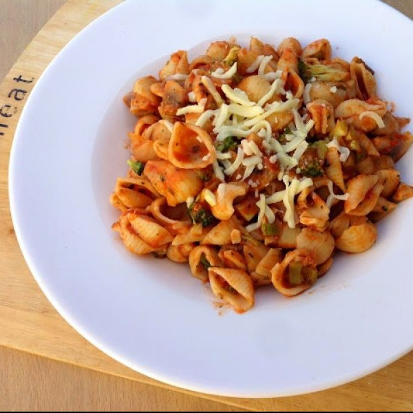 Photo of Shell Pasta in Vegetables by sapana behl at BetterButter