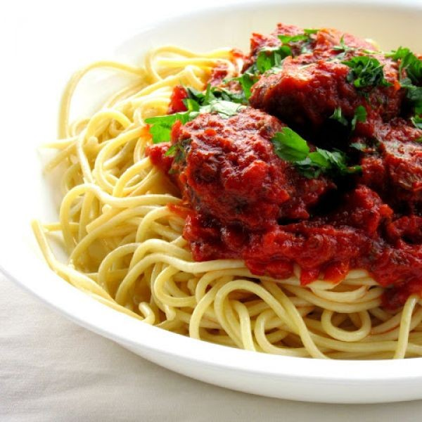 How to make Spaghetti with Meatless Meatballs