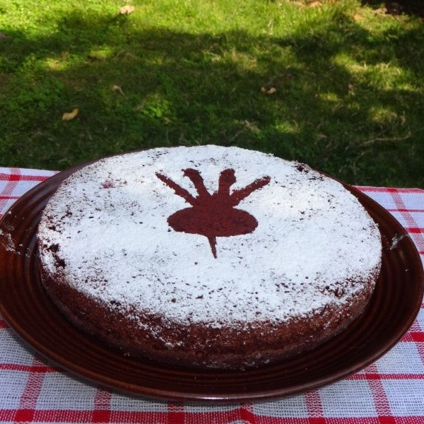 Photo of Whole Wheat Beet Chocolate Cake (Egg less) by Namita Tiwari at BetterButter
