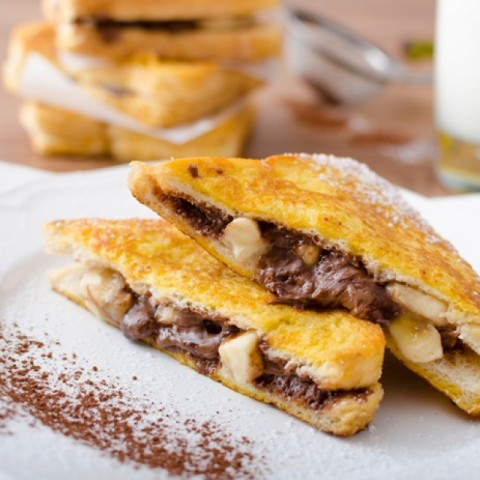 Photo of Banana Nutella French Toast by BetterButter Editorial at BetterButter