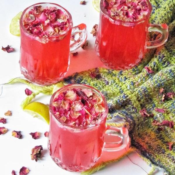 Photo of Rose Lemonade by Tasneem Rajkotwala at BetterButter