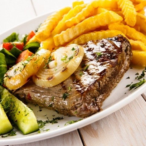 How to make Beef steak with potatoes