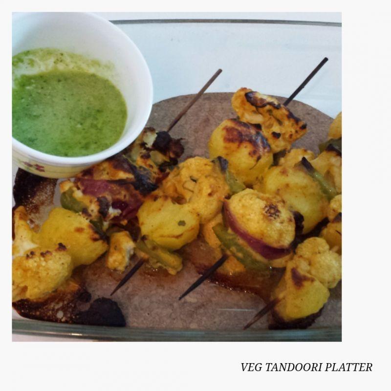 How to make Tandoori Veg Platter