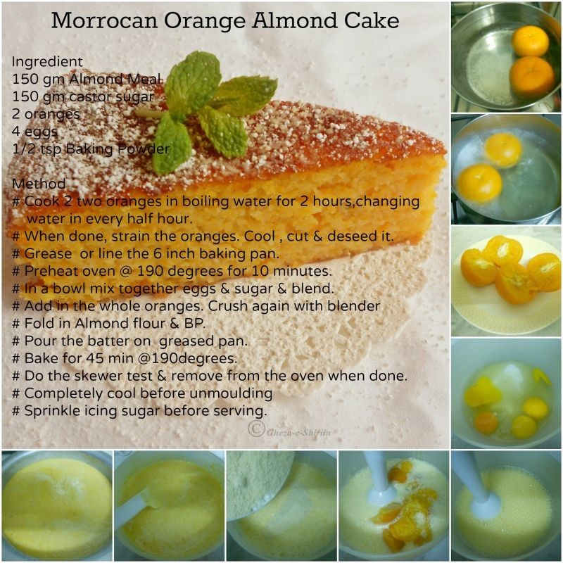 Photo of Morroccan Orange Almond Cake by Huma Kalim at BetterButter