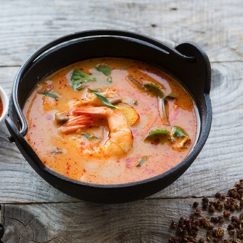 How to make Prawns in coconut milk gravy