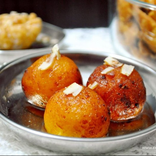 How to make Gulab jamun with Khoa / Mawa