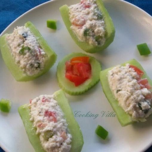 How to make Cucumber bites
