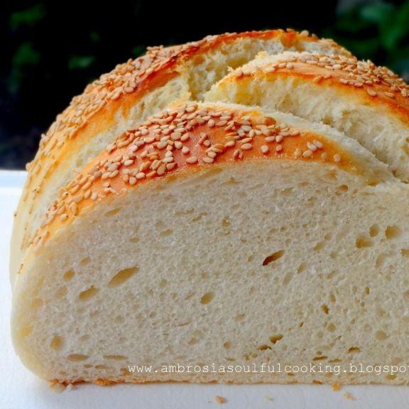 How to make Italian Sesame Bread (Vegan)