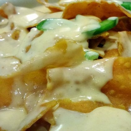 Photo of Super Nachos with Cheese Sauce by Vibha Bhutada at BetterButter