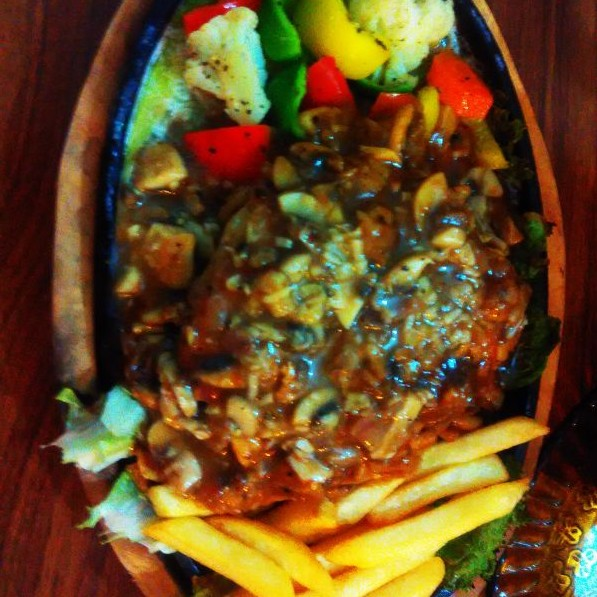 Photo of Chicken Steak Sizzler by Rubal Sood at BetterButter