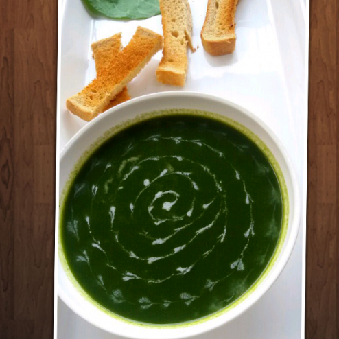How to make Spinach soup