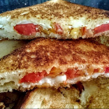 Photo of Tomato cheese sandwich by Ms. Falguni Kapadia at BetterButter