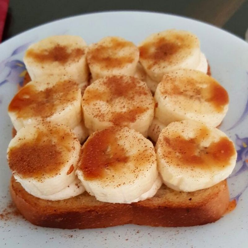 Photo of Open-Face Banana Cottage Cheese Sandwich by Vibha Bhutada at BetterButter