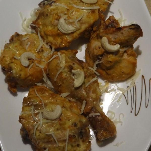 Photo of Cashew Coated Grilled Chicken by Mukulika Sengupta at BetterButter