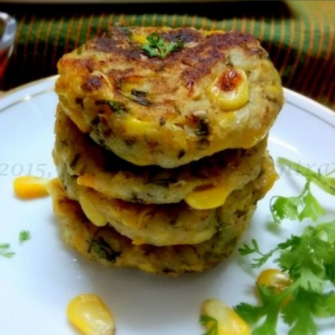 Photo of Sweet Corn Tikki by Meena C R at BetterButter