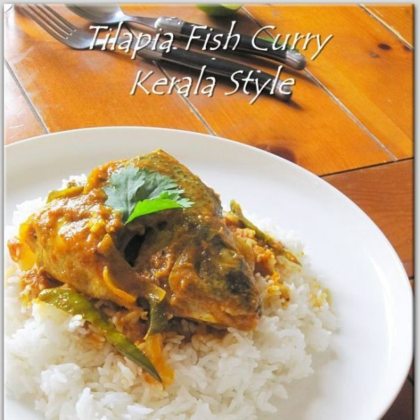 How to make Tilapia Fish Curry/Kerala Style.