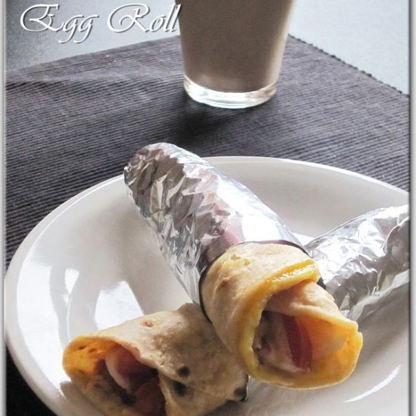 How to make Egg Roll (Indian Street Food)