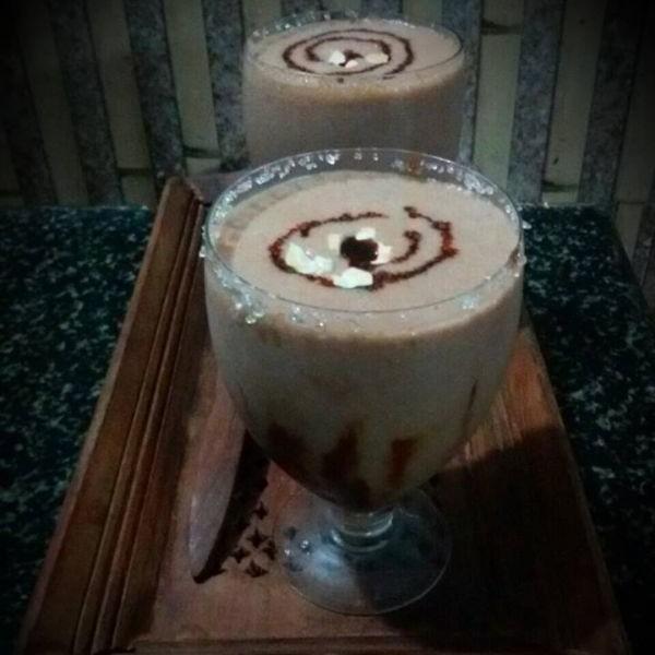 Photo of Sharjah shake (chocolate banana milk shake) by Manju Vinod at BetterButter