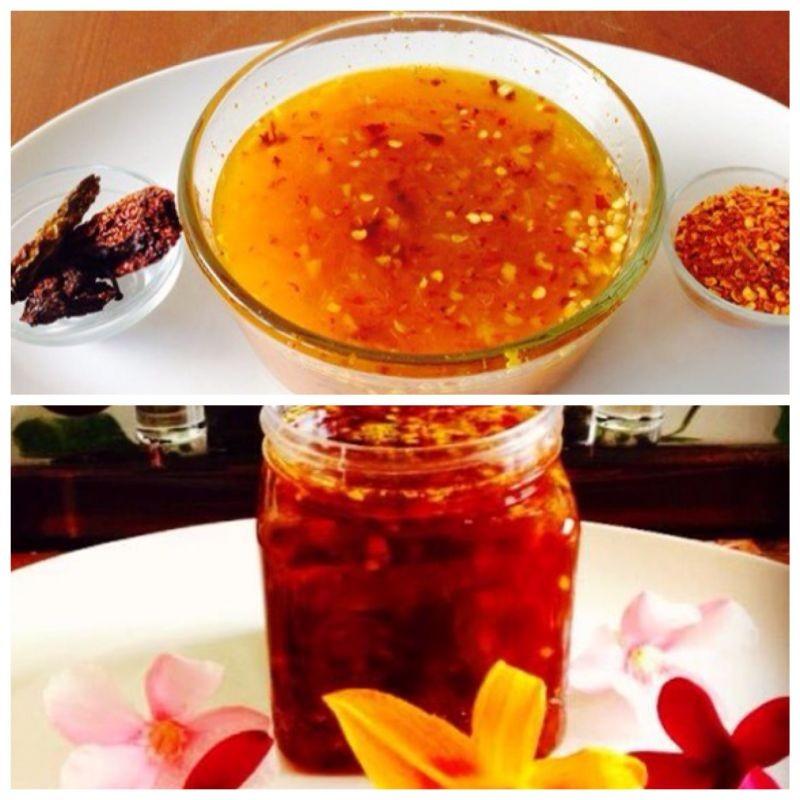 How to make Orange Ginger Bhut Jolokia Chutney / Jam