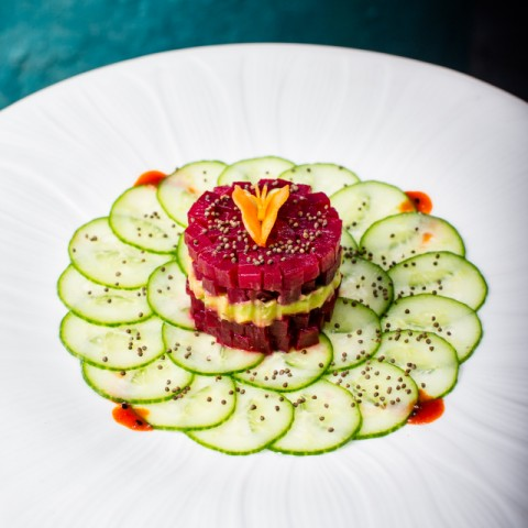 How to make Beetroot and Avocado Tartare