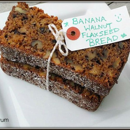 How to make Banana Walnut & Flax Seed Bread